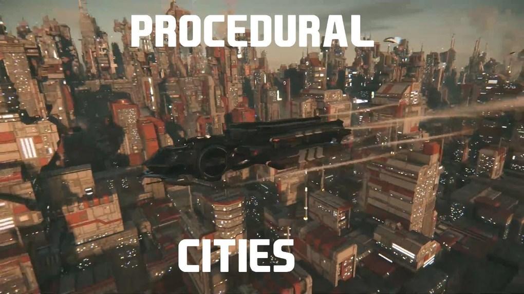 Citizen spotlight - STAR CITIZEN || PROCEDURAL CITIES ARE