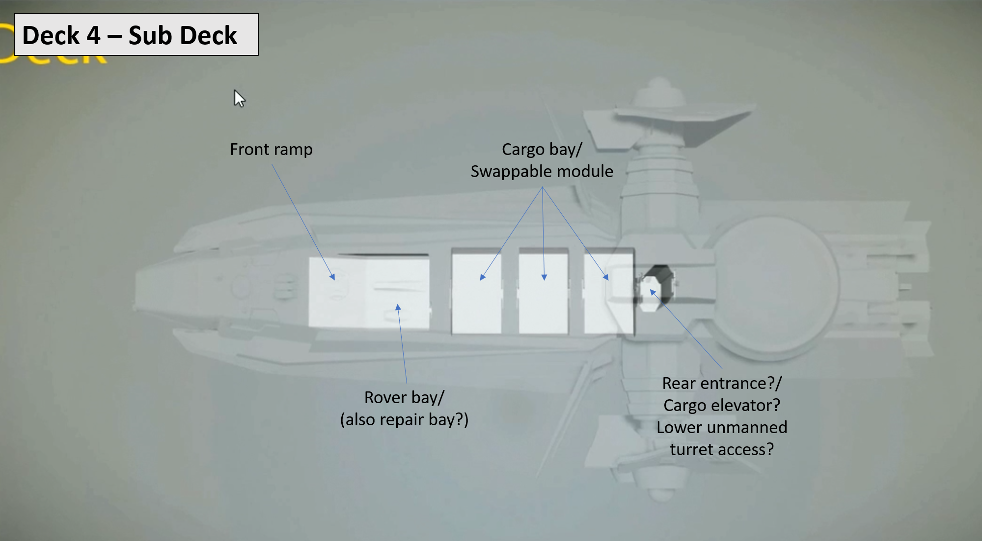 Citizen Spotlight Anvil Carrack Floor Plan And Tour From The Recent Reverse The Verse Episode The Shape Of Ships Roberts Space Industries Follow The Development Of Star Citizen And Squadron 42