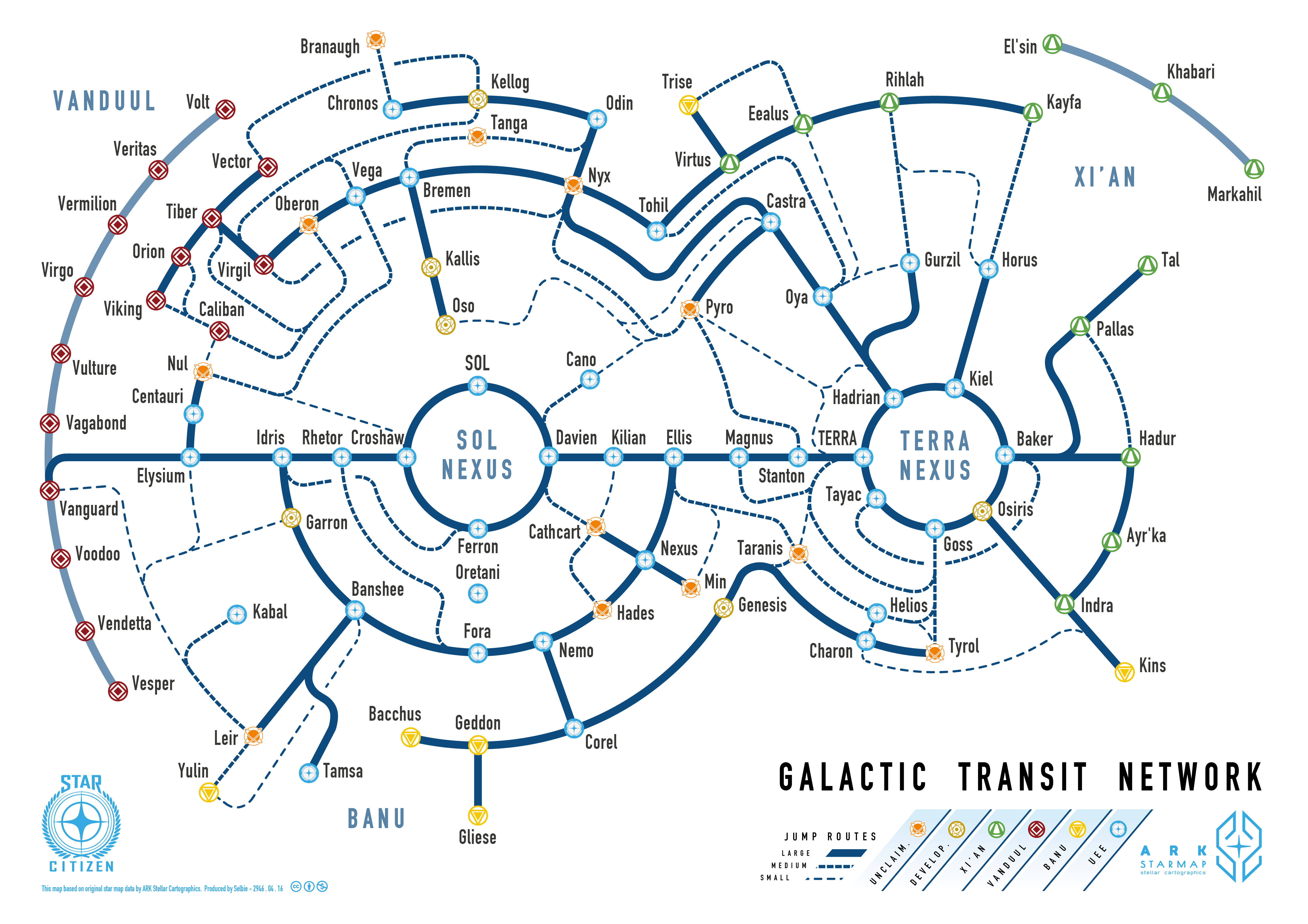 Citizen Spotlight It S A Map A Galactic Transit Map For Star