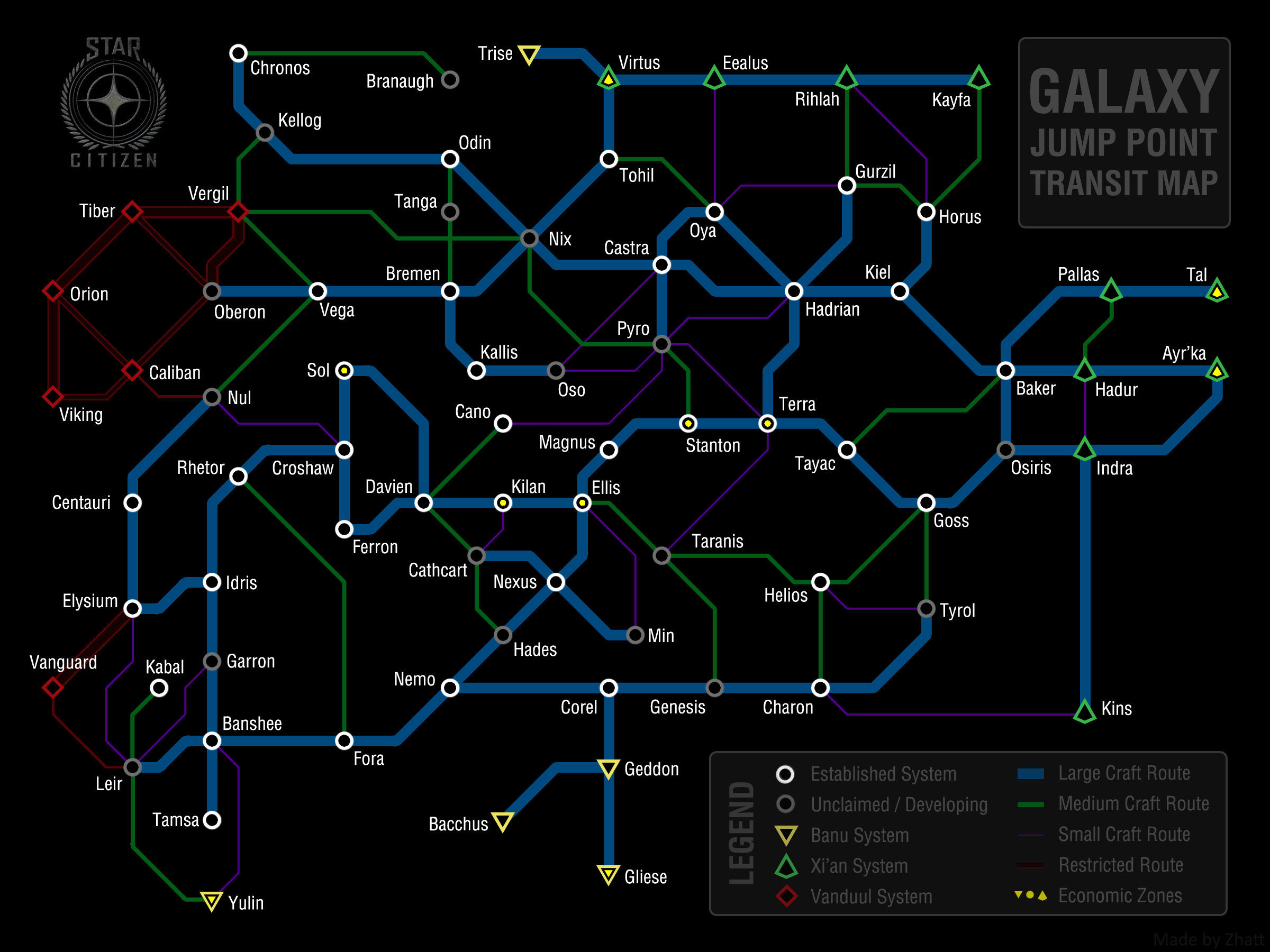 Rsi Star Map.Citizen Spotlight Galaxy Tube Map Roberts Space Industries