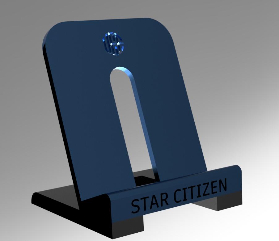 Citizen spotlight - 3D Print: Star Citizen UEE Challenge Coin Stand