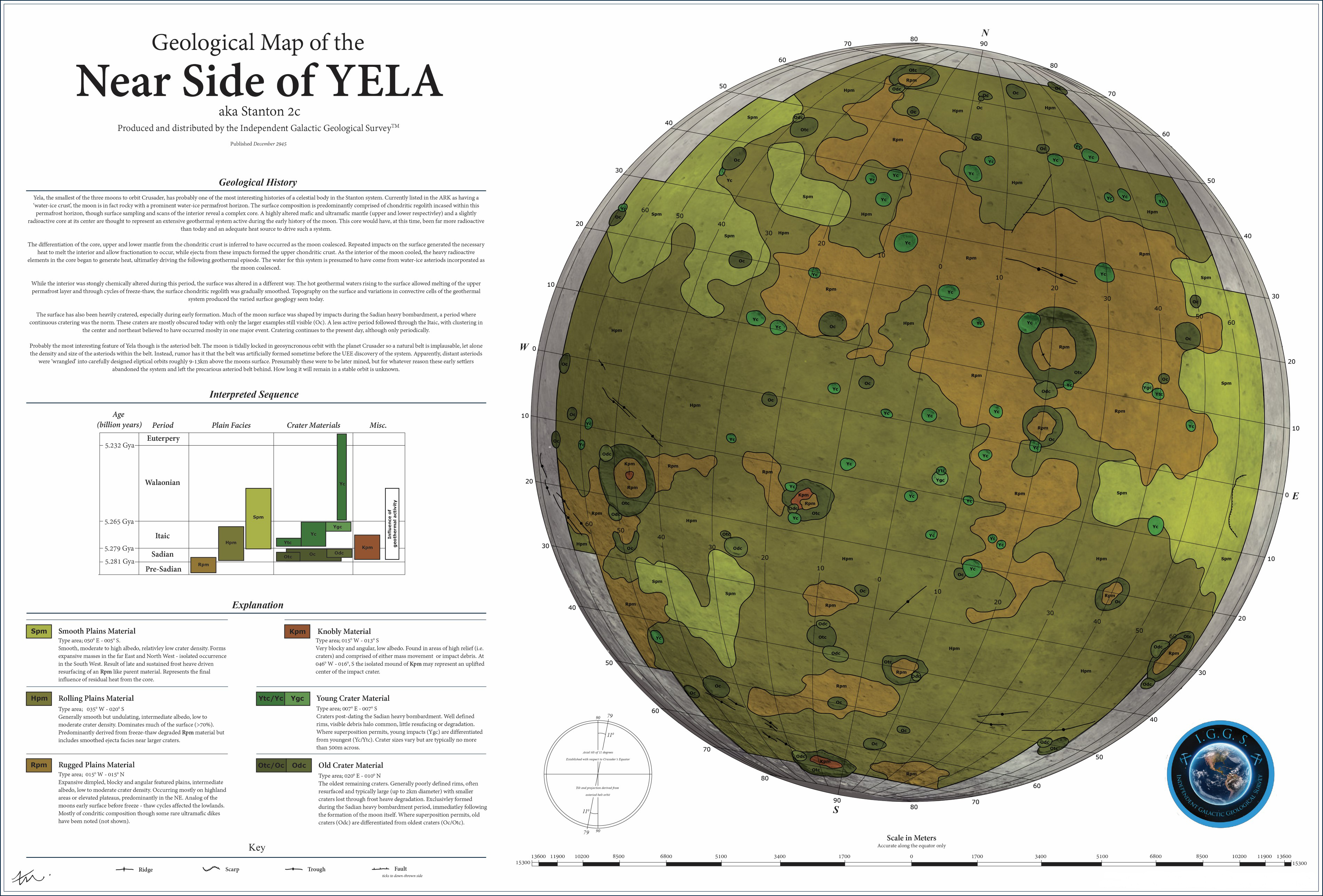 Citizen Spotlight Geological Map Of Yela Roberts Space