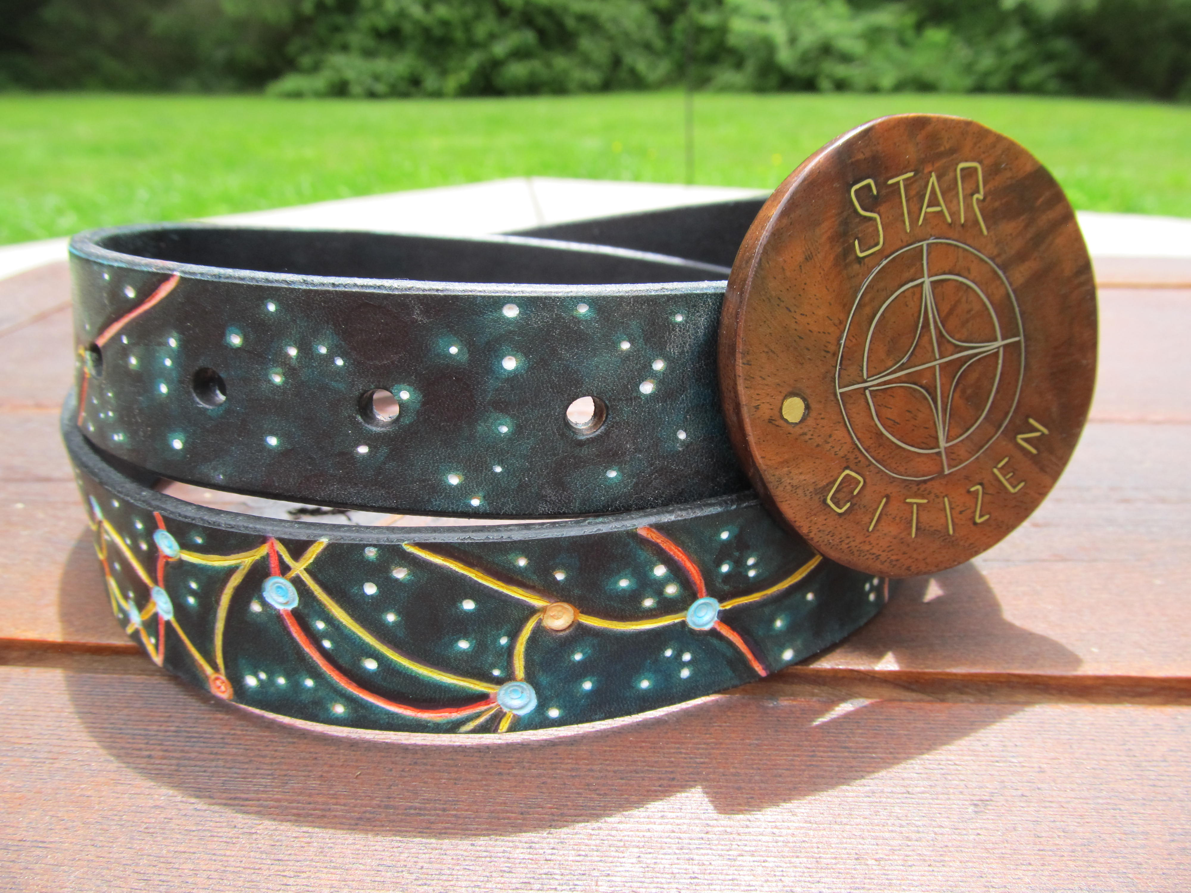 Rsi Star Map.Citizen Spotlight Rsi Bracelet And Star Map Belt Roberts Space