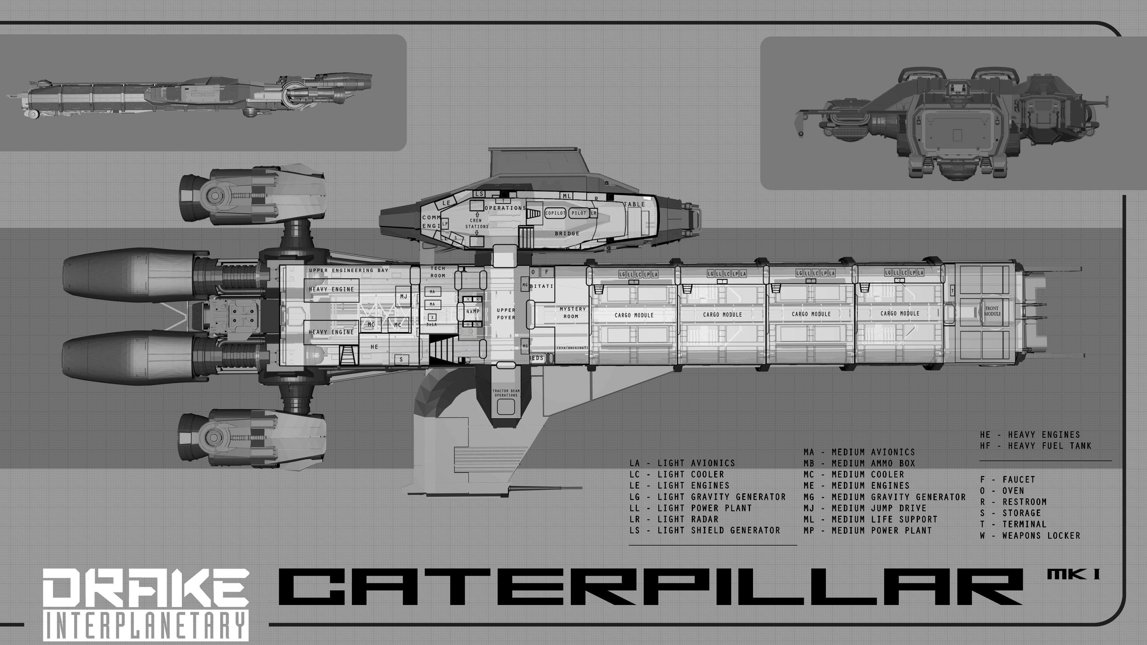 Anvil Carrack Dedicated Exploration Ship Page 30 Anvil Star Citizen Base
